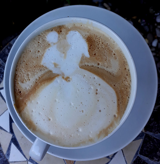 "Cappuccino ""Tanzendes Paar"""