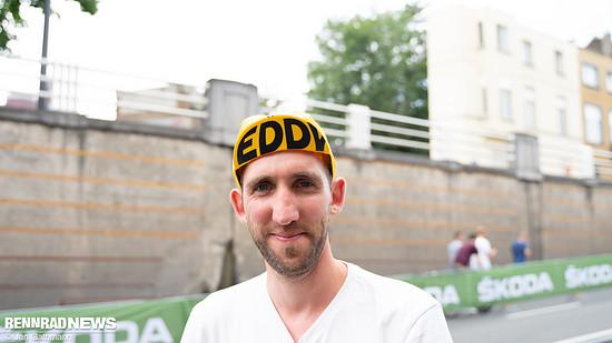 Die Mütze zum 50. Sieg von Eddy Merckx – Lotto verteilt sie