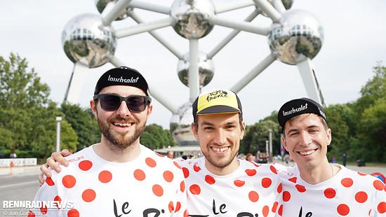 Sie sind ein ein Triathlon-Team aus Österreich