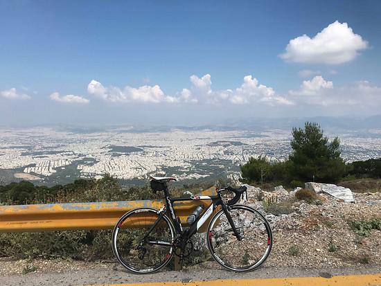 Sicht Athen