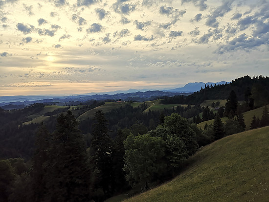 Von der Ahorn Alpe / Grenzweg Bern-Luzern
