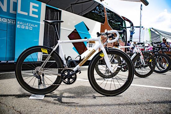 Oliver Naesens MyCorsa für die letzte Tour-Etappe