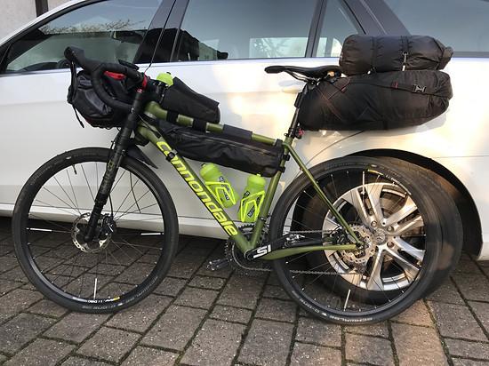 Bikepacking Tour Test