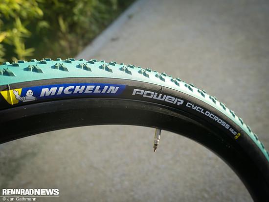 Ebenfalls neu: Michelin Power Cyclocross Mud. Ausschließlich in 33-622...