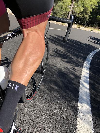 Probefahrt neue Socken