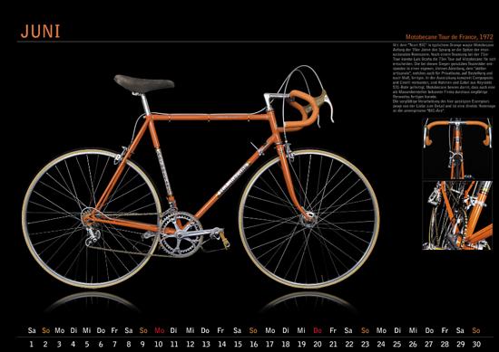 Auch im Klassikerkalender des Forums wurde das Rad schon geehrt