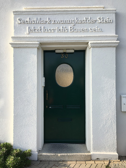 Haustür in Schwerin