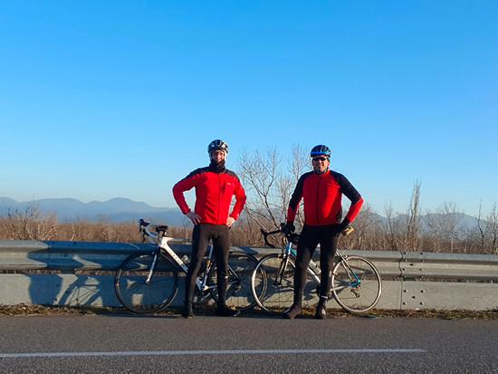 Elsasstour, 80km am 5.01.