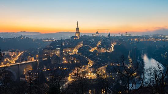 Blaue Stunde Bern