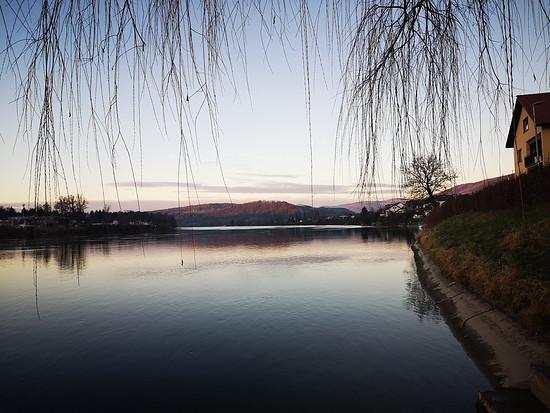 Der Rhein bei Wallbach (Baden)