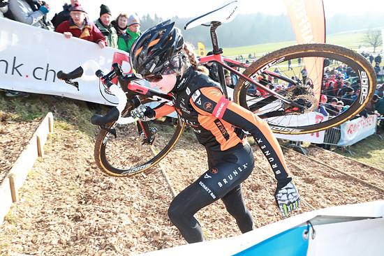 Schnellste Frau, U23-Fahrerin Jacqueline Schneebeli