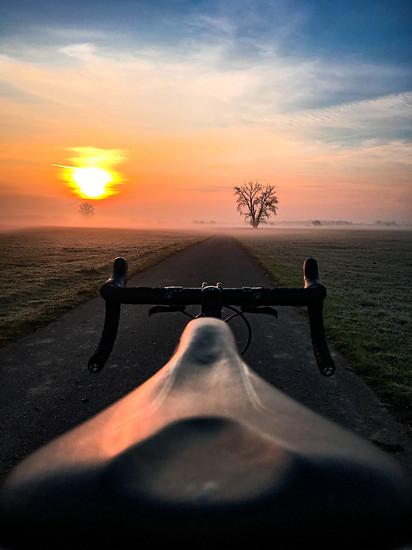 Für solche Momente lohnt es sich, auch im Winter aufs Rad zu steigen