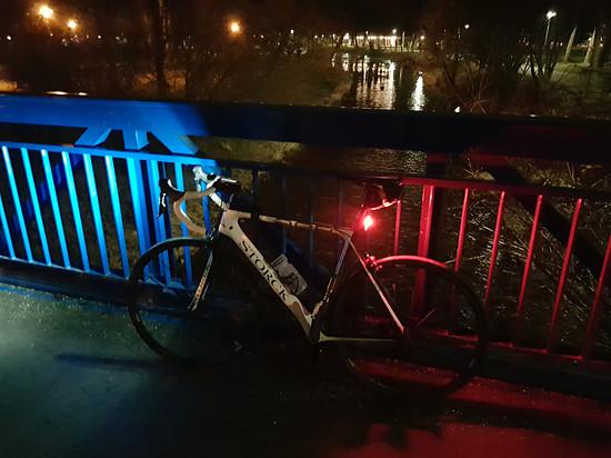 Nachtfahrt im Winter