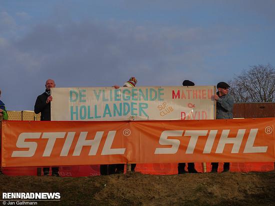 So wahr: Der Holländer Mathieu van der Poel flog wieder allen davon