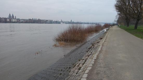 Reichlich Ufer vorhanden