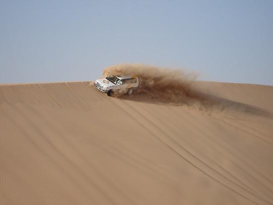 Sand im Getriebe.