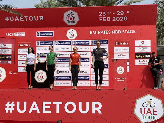 Die Jerseys der UAE-Tour