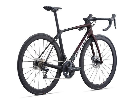 In den Giant TCR Advanced Pro Disc.-Rädern kommen die neuen SLR 1-Laufräder zum Einsatz