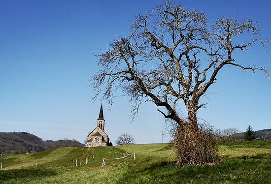 Die Ev. Kirche in Steinen-Hofen