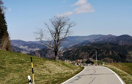 Abfahrt nach Sallneck