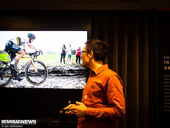 Premiere feierte das Future Shock 2.0-System mit Peter Sagan auf dem Kopfsteinplaster von Paris-Roubaix, das rauer ist als viele Gravelwege