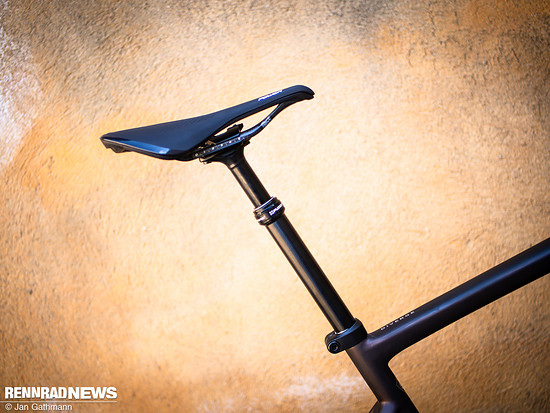 Das Specialized S-Works Diverge kommt ab Werk mit absenkbarer Sattelstütze