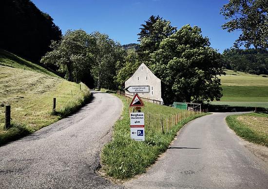 Straße nach Langenbruck