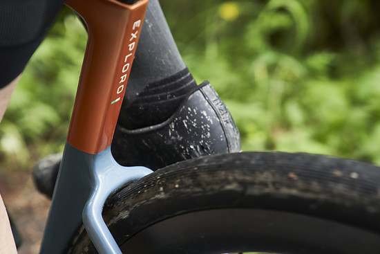 Aber Reifen bis 61 mm tatsächlich gemessener Weite passen noch – und sollen noch 90 Prozent der Aero-Vorteile bieten