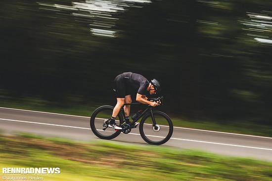 Die neuen Laufräder machen nicht nur optisch schnell
