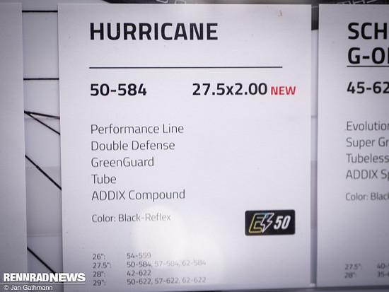 Auch der Hurricane bekommt eine interessante neue Größe