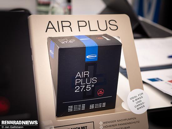 Ebenfalls neu von Schwalbe ist der Air Plus-Schlauch
