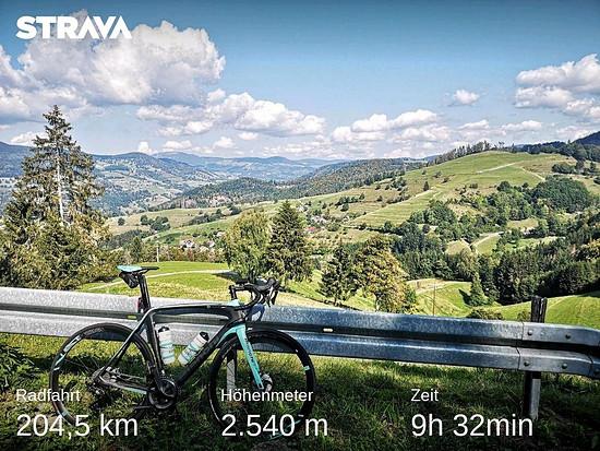 Herrliche Runde durch den Schwarzwald heute :)
