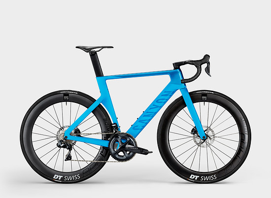 Canyon Aeroad CF SLX Disc 8 Di2 Blue in Blue