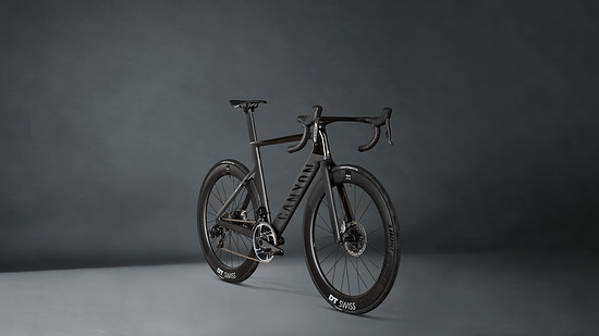 Das Canyon Aeroad CFR in Stealth