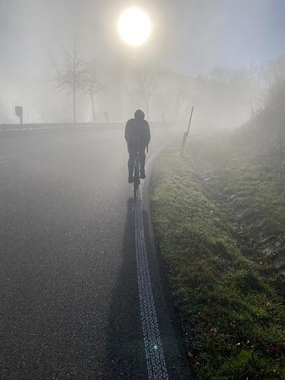 Schwarzwaldhochstraße im Nebel
