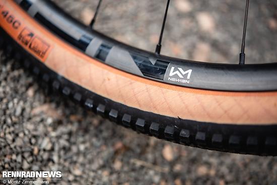 Der Newmen-Laufradsatz ist definitiv ein Plus in der Ausstattung