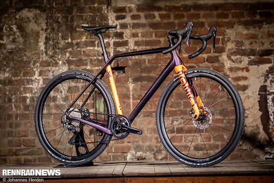 Das Ruut X ist die Cyclocross Maschine auf Basis des vielseitigen Carbonrahmens