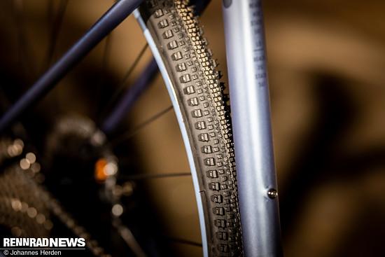 WTB Riddler Reifen in 37 mm dienen als Allrounder