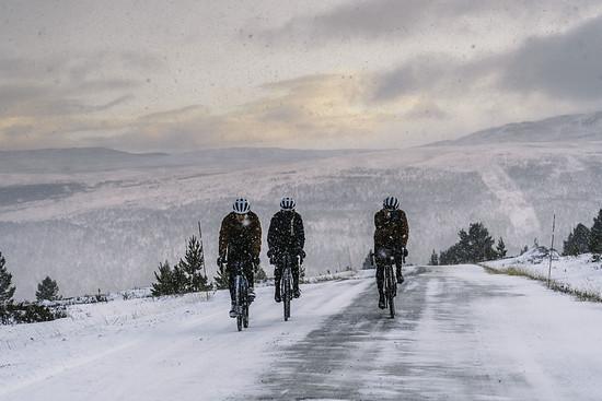 Radfahren bei Kälte