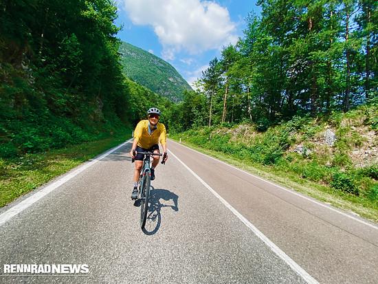 Auf der Straße sind Endurance- und Race-Bike zuhause