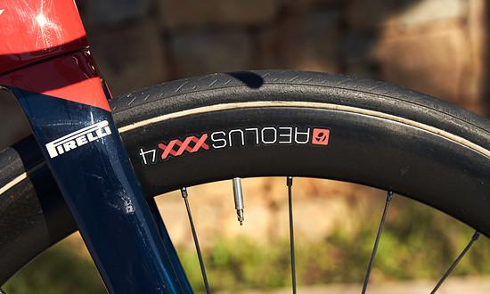 An allen Bikes werden Laufräder von Bontrager eingesetzt.