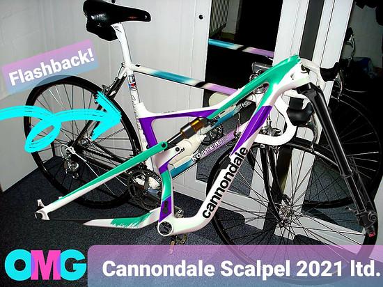 CANNONDALE SCALPEL CARBON 2021 LTD.