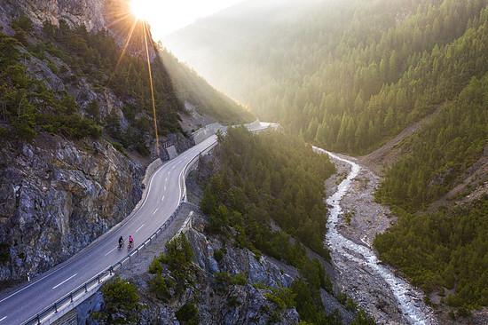 Ein Hauptgang für Rennradfahrer