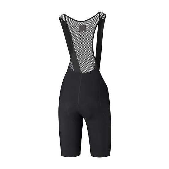 Evolve-bib-shorts-men black back