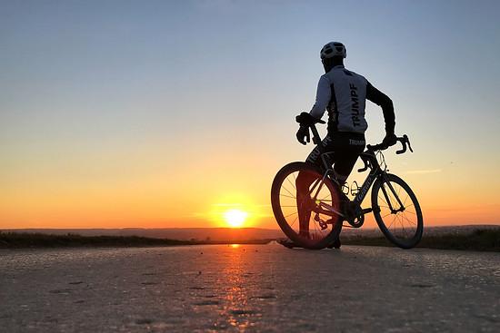 Runde über die Schwäbische Alb und in den Sonnenuntergang geritten😊