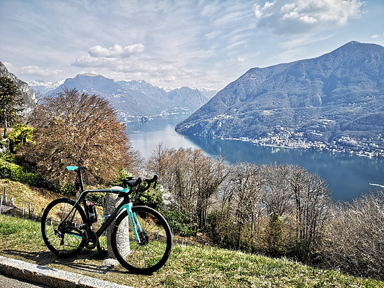 Bianchi am Lago di Lugano ausführen 🙂