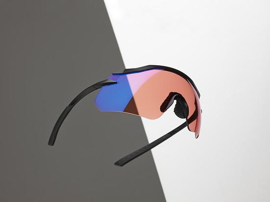 Die neue Shimano Equinox-Brille mit Halbrahmen.