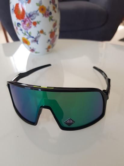 Sutro S Polished black, Prizm jade