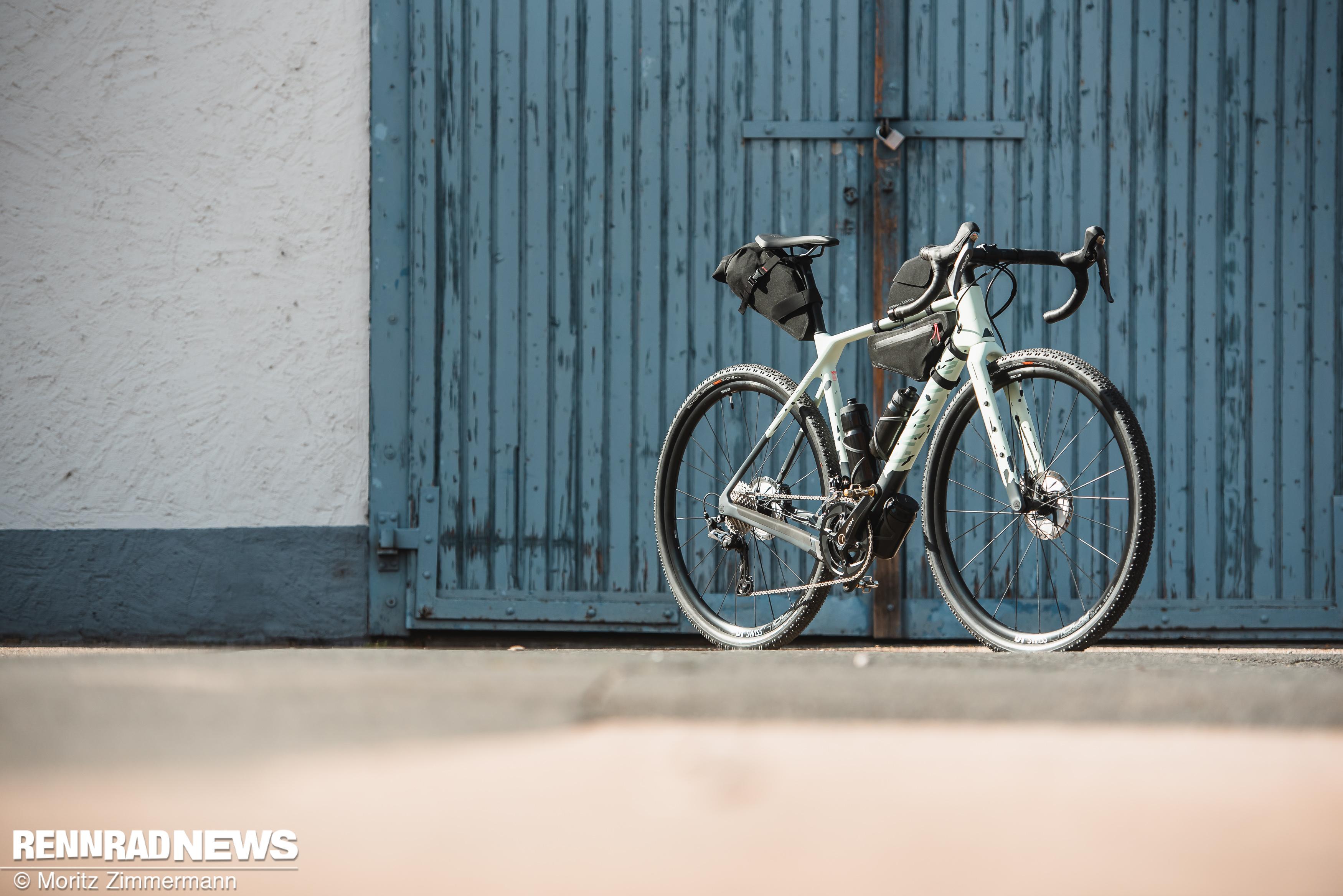 Foto: Adventure-Gravel Bike steht drauf, Spaßmaschine