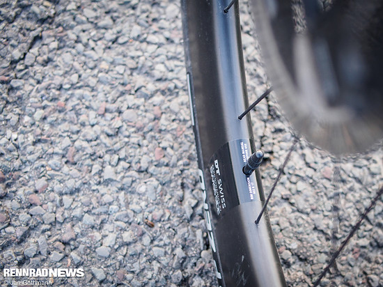 Der passende Reifendruck richtet sich wie üblich nach Felge und Reifentyp – und natürlich dem Einsatzgebiet und Fahrergewicht.